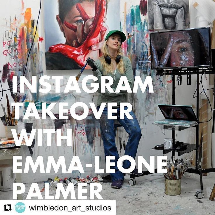 #Repost @wimbledon_art_studios with @repostapp  Ever wondered what an artist gets up to in preparation for the Wimbledon Open Studios? It's time to find out...   TOMORROW @emmaleonepalmer takes over our Instagram for one day only as she and her fellow artists put the final touches to their studios before opening their doors to you.  Follow us for a sneak peek into the lives of the artists here and what to expect at the Open Studios this weekend. #instatakeover #WimbledonOpenStudios…