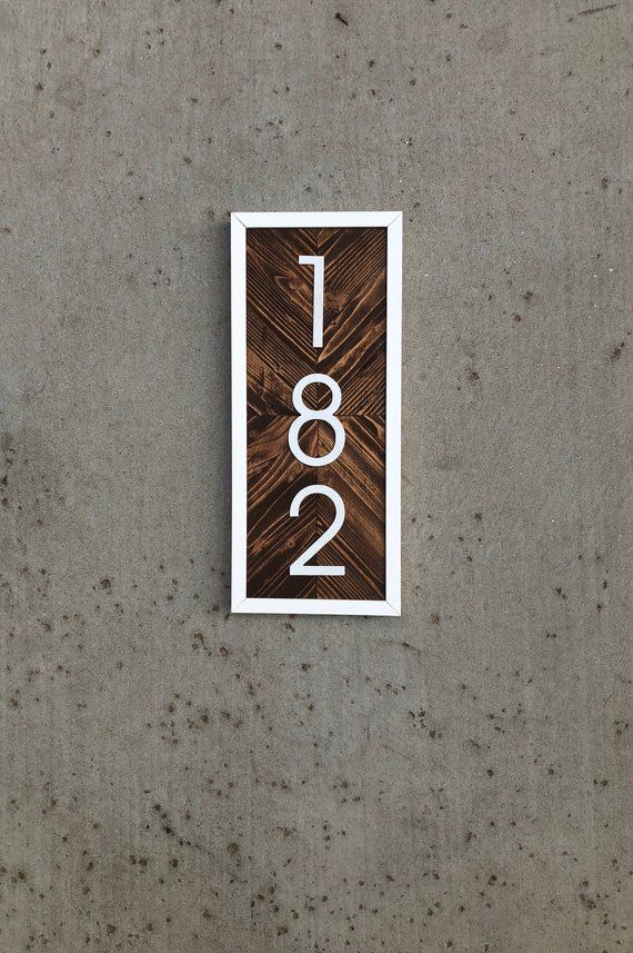 House Numbers Vertical Vertical House Numbers House Numbers Vertical Hanging House Number Sign Housewarming Gift Address Sign Vertical House Numbers Diy House Numbers House Number Sign