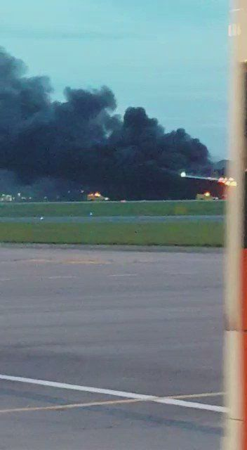Singapore Airlines plane catches fire while making emergency landing | World news | The Guardian