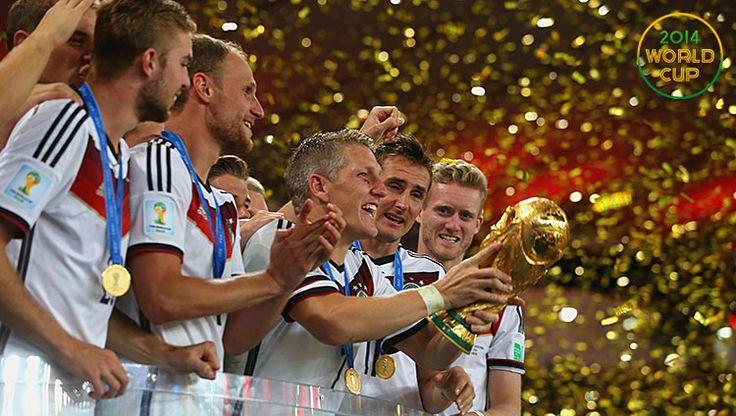 DE wins the 2014 World Cup
