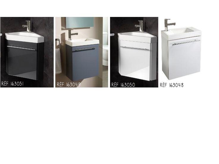 Découvrez nos nouveaux meubles lave-mains avec robinet eau chaude/eau froide ! #planetebain #lavemains #salledebain