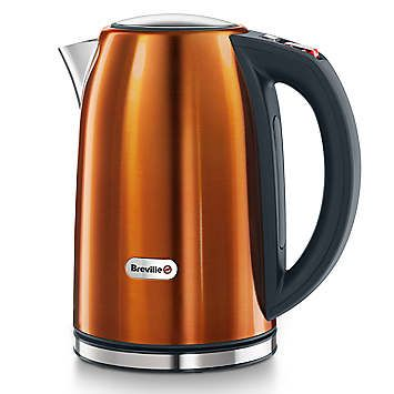 Breville Rio Jug Kettle - Orange - The Breville Rio Collection of kettles and toasters brings the vibrant colours of the Brazilian Carnival into your home and kitchen. £65.