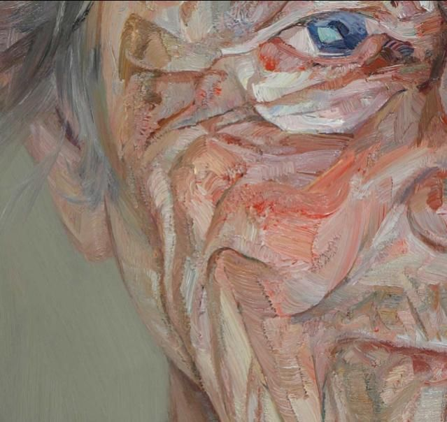 Close-ups by Tai Schierenberg. Wish I had the guts and the paint money to have such textured paintings.