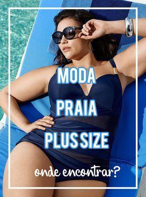 Moda praia plus size: lista de lojas bacanas para comprar biquínis ou maiôs de tamanhos grandes | Grandes Mulheres
