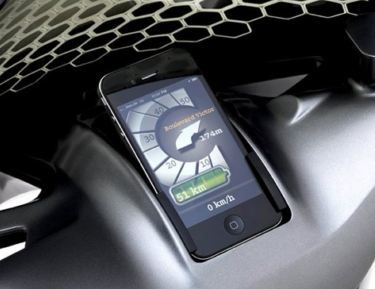 #Smartphones To Replace Your Car Dashboard