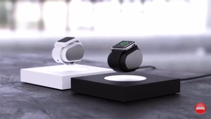Lift Anti-Gravity Levitating Smartwatch Charger Juices Your Apple Watch And iPhone - Smartwatch News - Smartwatch.me