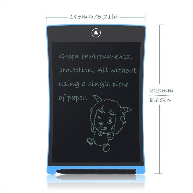 Ultra-thin 8.5 Inch LCD Writing Tablet Digital Drawing Tablet Handwriting Pads Board With Pen