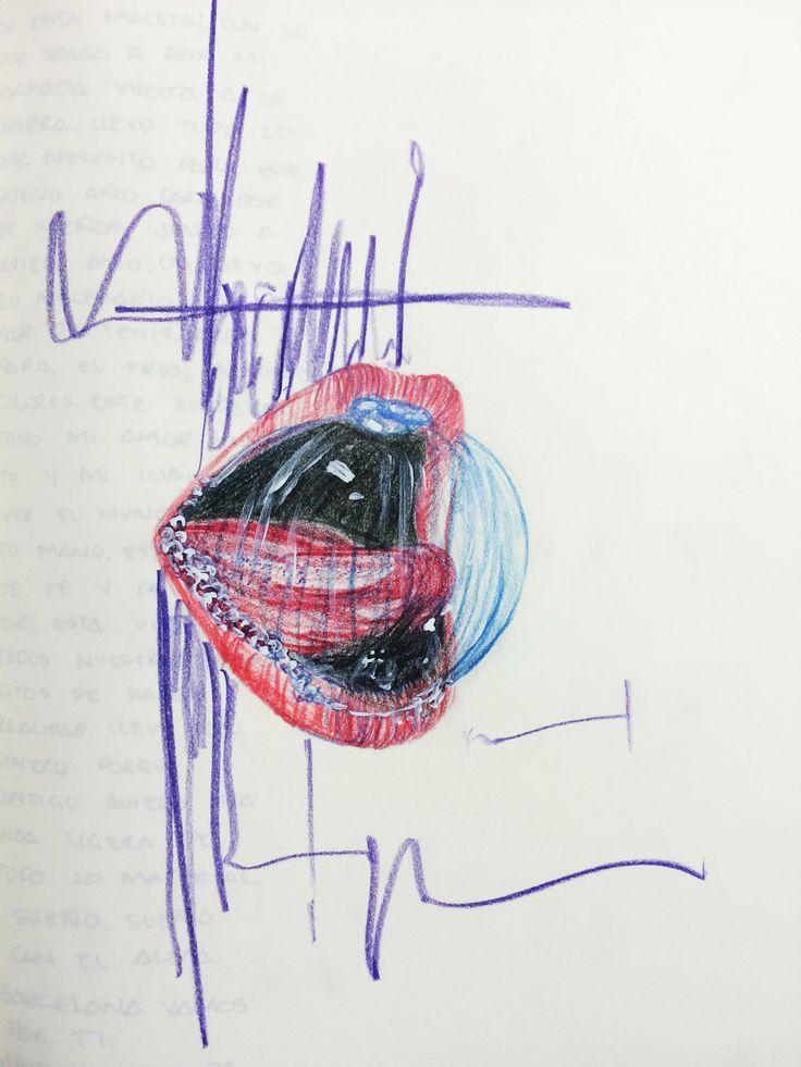 Faber Castell over a moleskine.