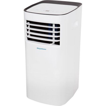 Keystone 6,000 BTU 115V Portable Air Conditioner with Remote Control, Gray