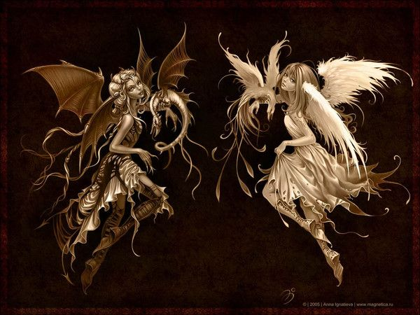 Angel or Devil by Ana Ignatieva