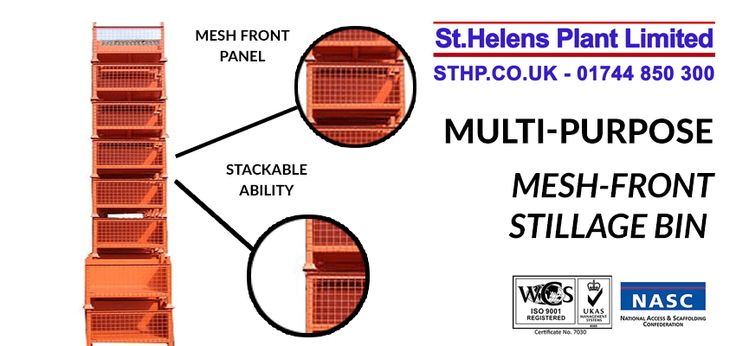 The multi-purpose mesh front stillage bin, designed and manufactured by Metal Manufacturer's, part of St Helens Plant. Available in any specification.