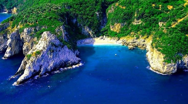 Fakistra beach in Tsagarada Mt.Pelion - Wonderful Greece