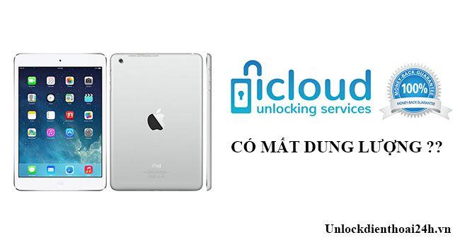 Ipad Mini Sau Khi Mở Icloud Co Bị Giảm Dung Lượng May Ipad Mini