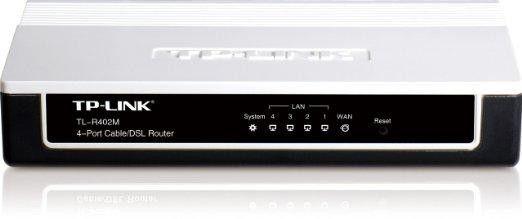 Tp-link Usa Corporation 4-port Cable-dsl Router
