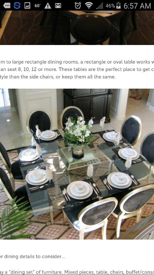 Eclectic Dining Rooms Square Tables Kitchen Essentials Glass Table The Room Classic Chairs Area Random Things