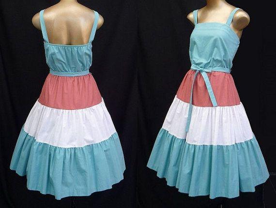 50s Sun Party Dress