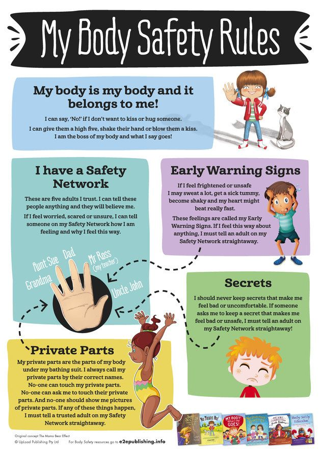 5 Body Safety Rules to Help Protect Your Child From Sexual Abuse