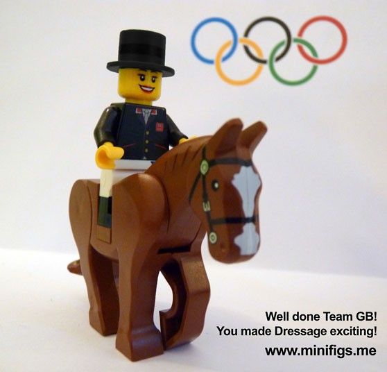 London 2012 Olympics: LEGO minifigs of Team GB gold medal winners - Telegraph