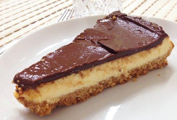 Cheesecake de Nutella (Foto: Fernanda Nogueira)