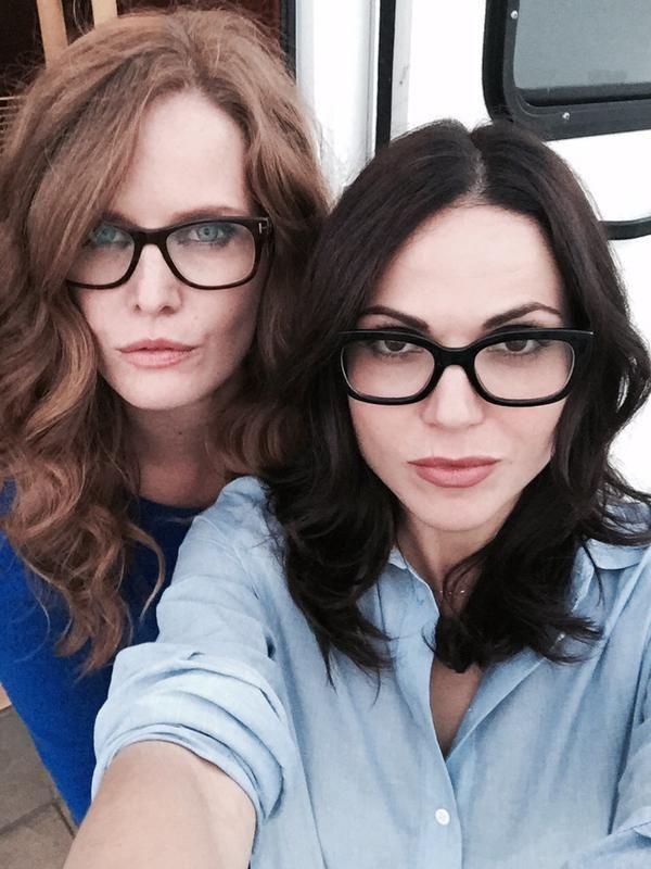 Lana & Rebecca at the season 5 premier party