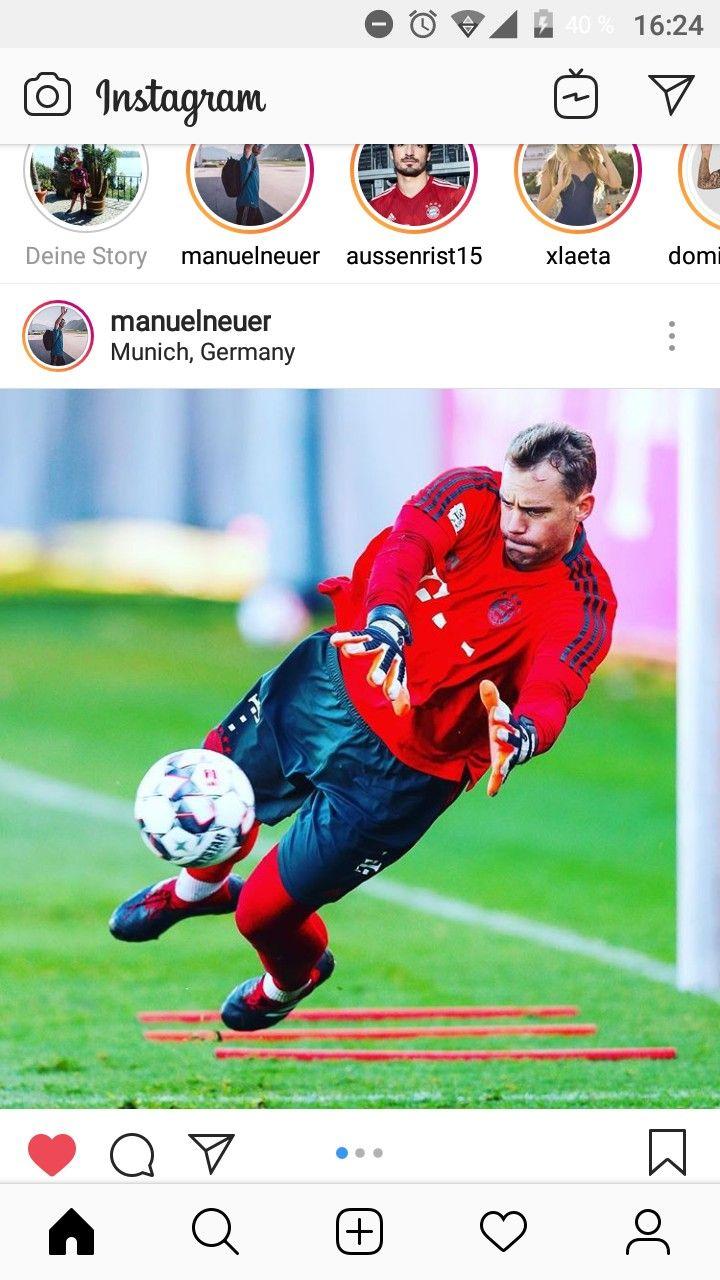 Pin Von Rabaukenlaura Manuel Neuer Auf Manuel Neuer Instagram Neue Wege