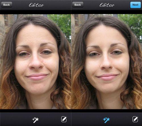 Aplicaciones de Edición de Fotos para arreglar Las Imperfecciones Del Rostro Fácilmente #APP