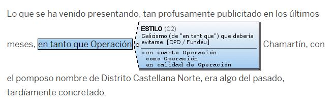 La expresión «en tanto que» es un galicismo que debería evitarse. Escribe «en cuanto», «como» o «en calidad de».
