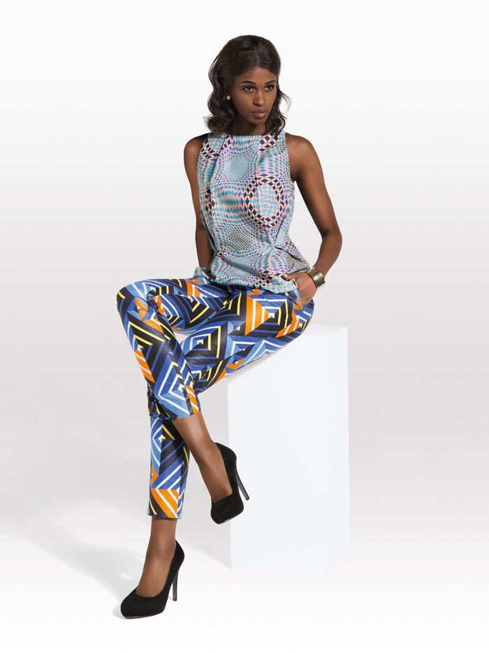 17 Best images about Print suits and pants on Pinterest ...