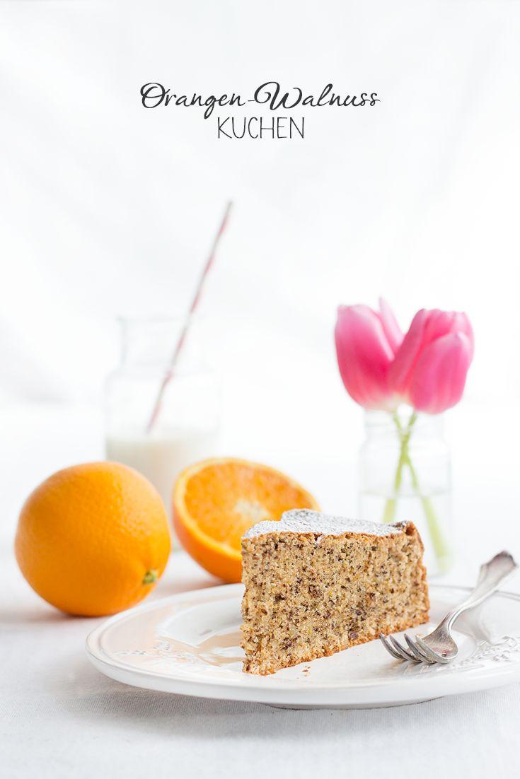 Orange Walnut Cake • Orangen-Walnuss-Kuchen