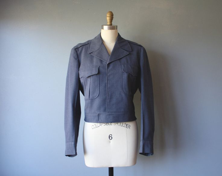 vintage postal jacket / uniform jacket / grunge jacket by GazeboTree on Etsy