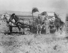 ネブラスカ州中部の開拓者、1886年撮影-ネブラスカ州 - Wikipedia