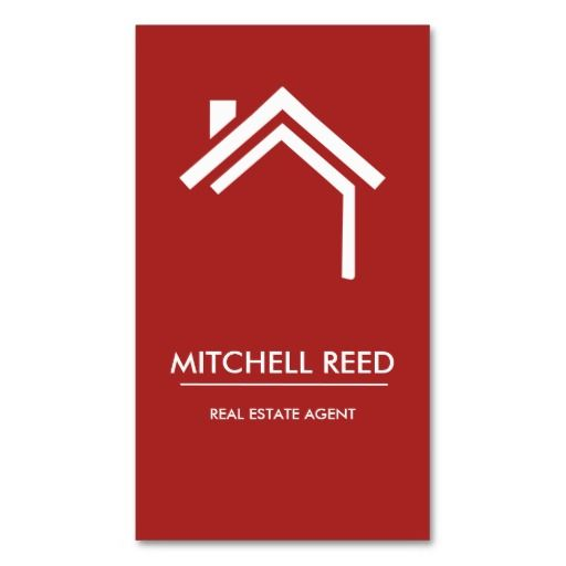 519 best real estate business cards images on pinterest real modern business card no 30 reheart Images
