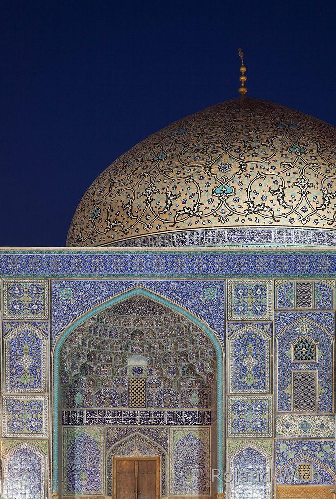 Isfahan, Iran - Lotfullah Mosque