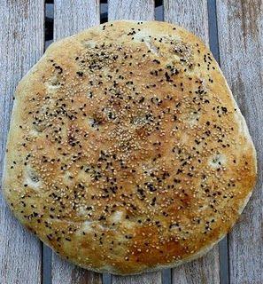 Selber Brot backen: Fladenbrot #Rezept