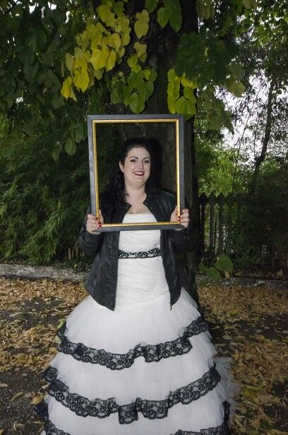 My wedding dress...with a jacket!