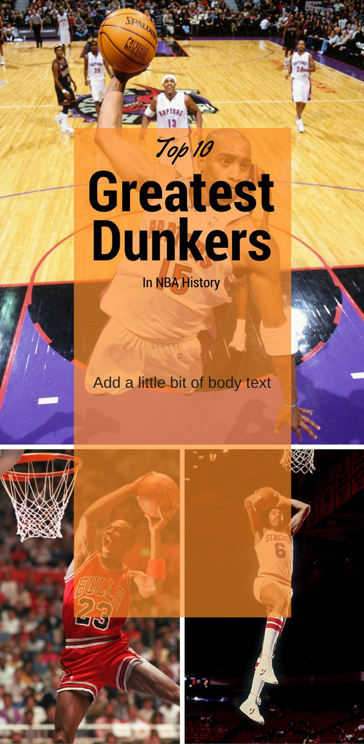 The best dunkers in basketball history. Basketball players. NBA highlights. Dunks.