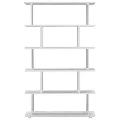 Formby Bookshelf High  White