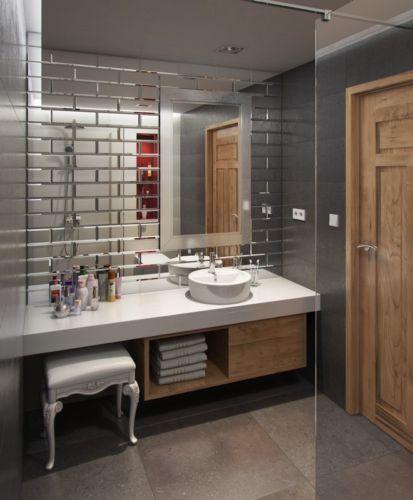 die besten 25 spiegelfliesen ideen auf pinterest kleine zimmerbar keller kochnischen und. Black Bedroom Furniture Sets. Home Design Ideas