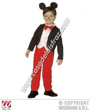 Disfraz de Ratoncito para niños. #Disfraces #Carnaval www.casadeldisfraz.com