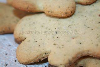 La zucca capricciosa: Maxi biscotti al tè verde