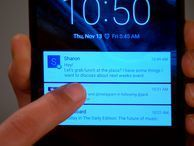 Android Lollipop lock-screen notification tips Find out how to interact with and customize lock-screen notifications on your phone or tablet.