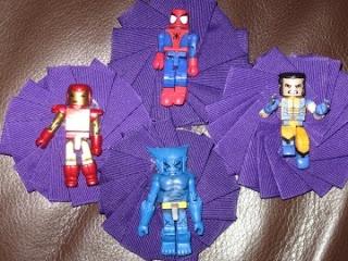 One Fell In: Wedding Wednesday: Super-hero Boutonniere DIY    USE LEGOS!