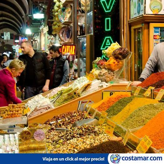 El Gran Bazar de Estambul, en Turquía. Foto: Justo Lapiedra/ Flickr