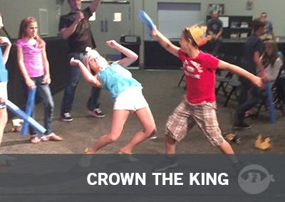 Crown The King | Fun Ninja Youth Group Games