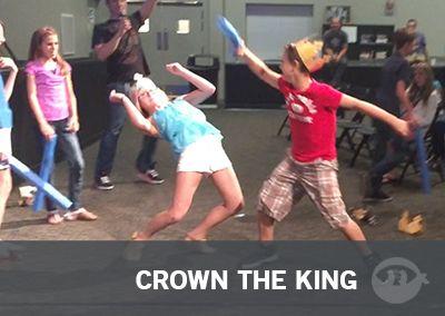 Crown The King | Fun Ninja Youth Group Games