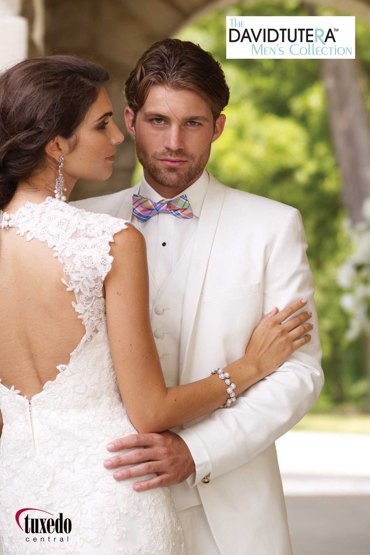 Asheville Tuxedo by Mitchell's - 'Celebration' - White - David Tutera Men's Collection - Slim Fit