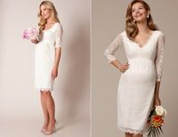Vestidos de novia para embarazadas - ¡Modelos preciosos!