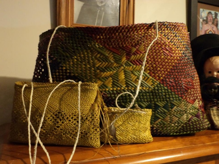 Alixene Curtis - just some of her weaving
