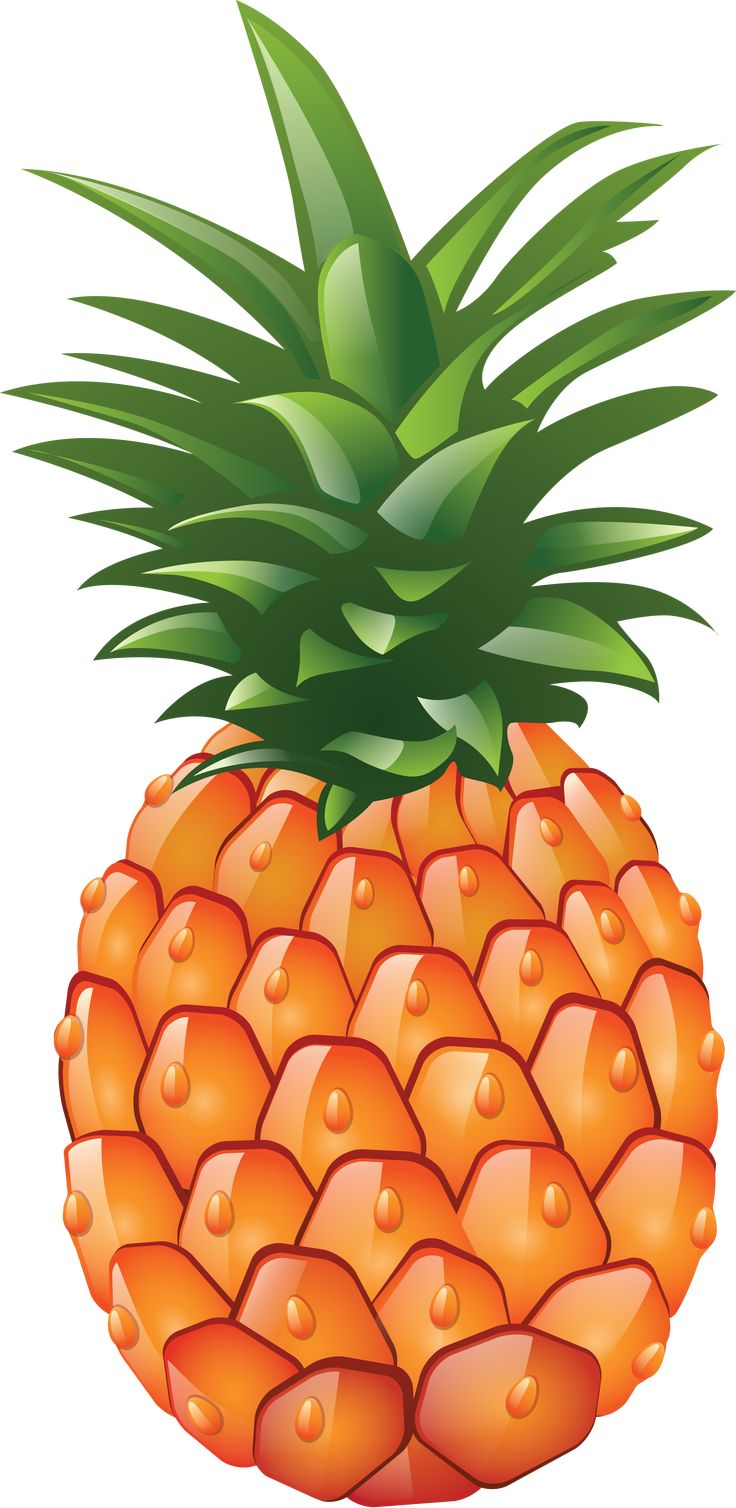 Pin By ★ Agatka ★ On Cliparts Pineapple Images Pineapple Painting Pineapple