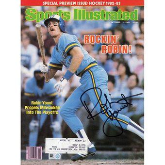 Robin Yount Milwaukee Brewers Fanatics Authentic Autographed 1982 Rockin Robin Sports Illustrated Magazine